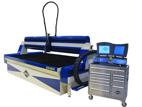 ZX-2043 waterjet cutting system