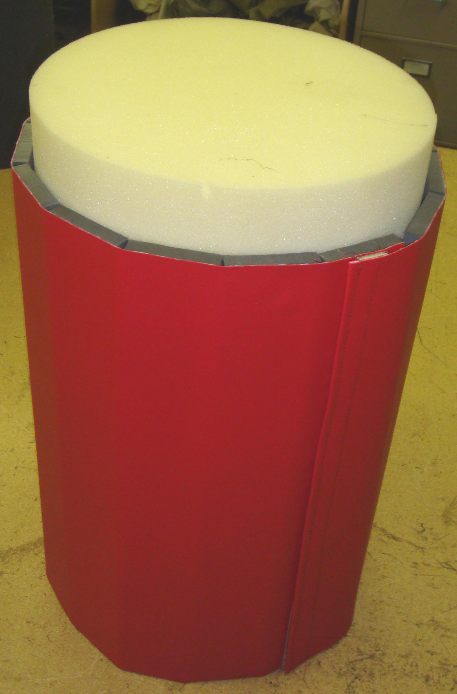 child safety foam basement pole bumper fireplace cushion foam